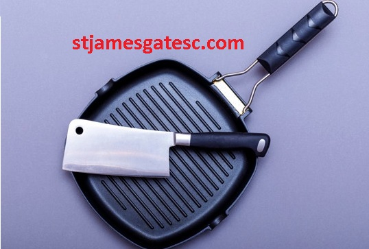 How to clean a grill pan cast iron