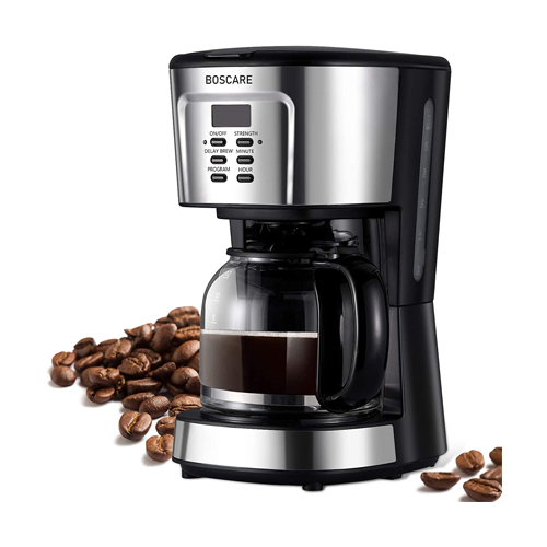BOSCARE Programmable Drip Coffee Maker