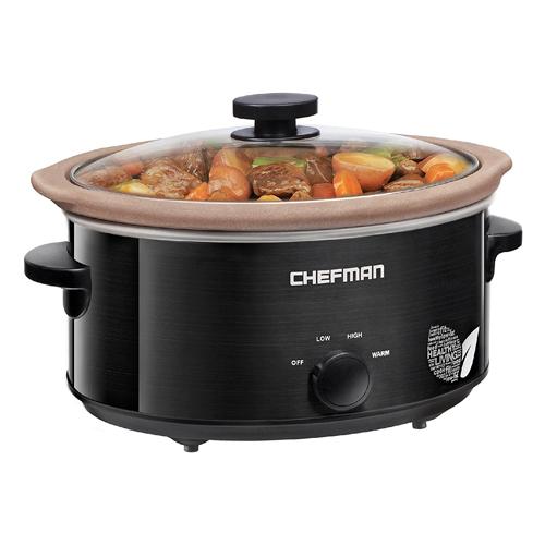 Chefman XL 5 Qt. Slow Cooker