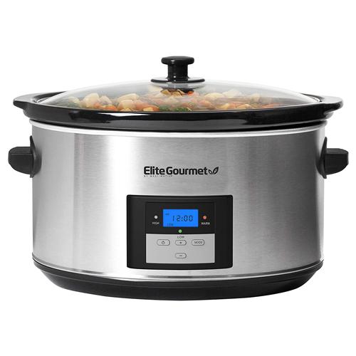 Elite Gourmet Digital Programmable Slow Cooker