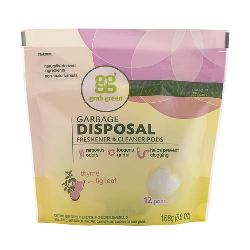 Grab Green Natural Garbage Disposal Cleaner