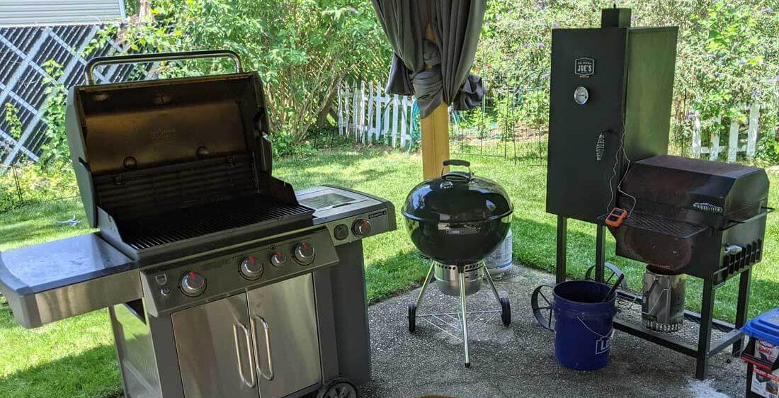 Some of Kurts grills